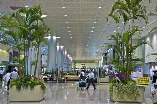 TPE arrivals lounge (Terminal 2)