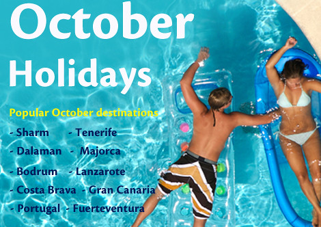 October Holidays with On the Beach