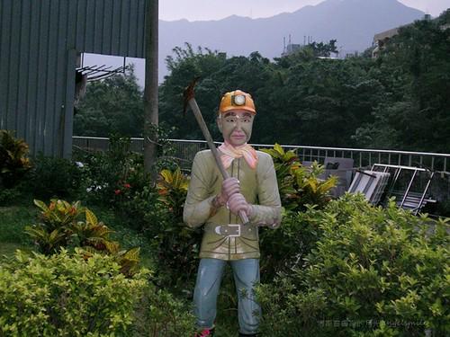 侯硐 - 礦工塑像