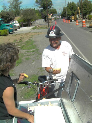 Free Ice Cream for Bikeway Builders