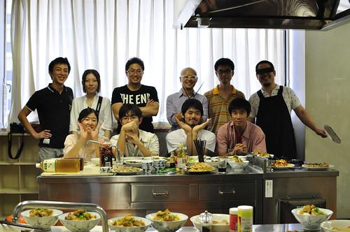 WB横浜料理対決 記念撮影