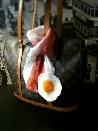 The Bacon & Fried egg Scarf
