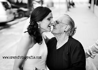 La abuela de la novia