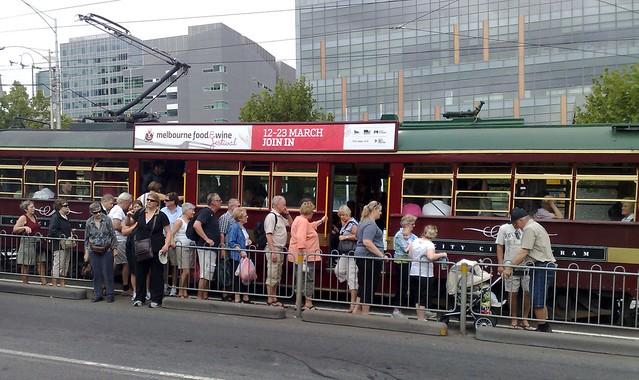 W-class City Circle tram