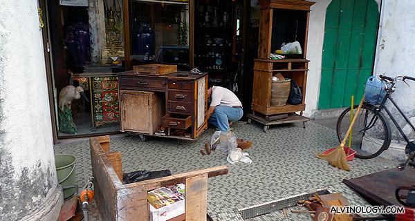 Old school carpentry shop