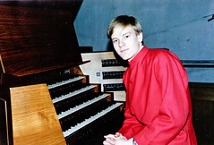 Philip Rushforth - Organ Scholar 1989 (cathedralchoir) Tags: germany 1989 rogerfisher philiprushforth