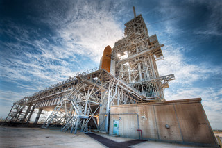 The Shuttle Pad - (HDR NASA)