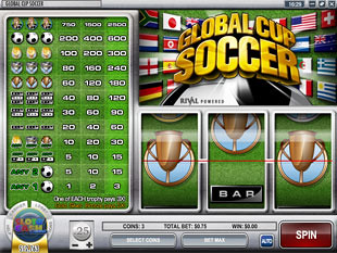 Global Cup Soccer slot game online review