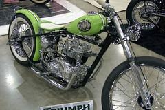 '70 500twin Triumph (mcwont) Tags: show ca car grand national hotrod custom pomona roadster 2011 gnrs copyrightcjeffmccannallrightsreserved