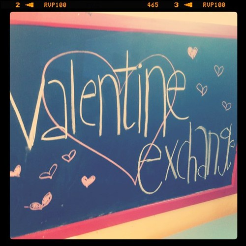 Would you like to exchange valentines?