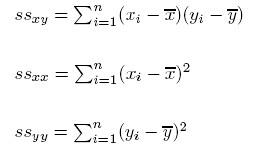 Вычисление коэффициента корреляции