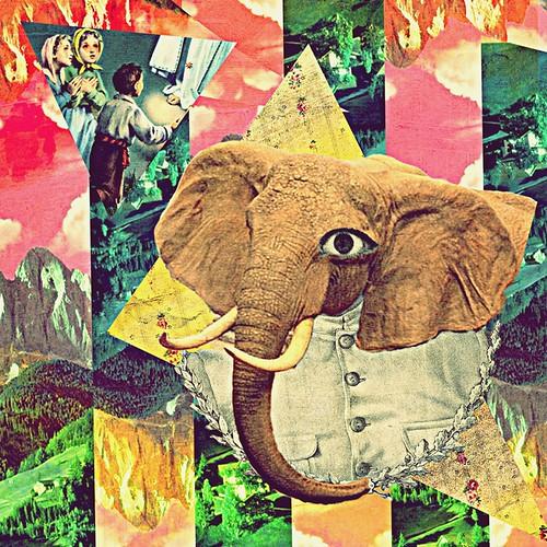 rezando por el elefante