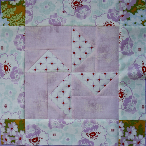 Block #4 Gingham Pinwheels