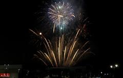Fireworks at Khalifa Stadium (.:shk:.) Tags: nightphotography sparkles firework celebration crackers afc doha qatar shk khalifastadium japanvsaustralia canoneos500d asiancup2011 shkarim sogirkarim sogskarim