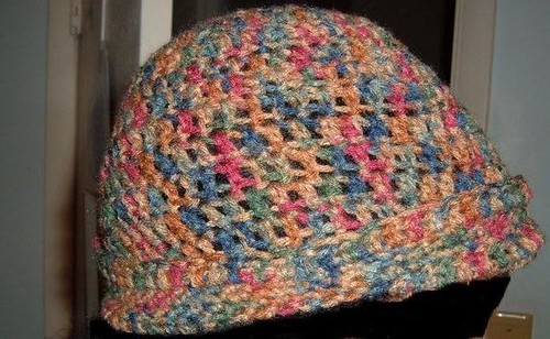 Hat side view.