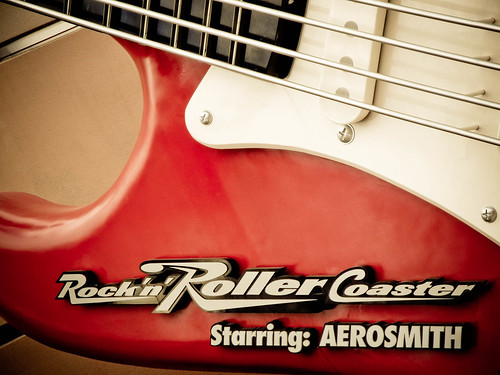 Aerosmith's Rock N Roller Coaster