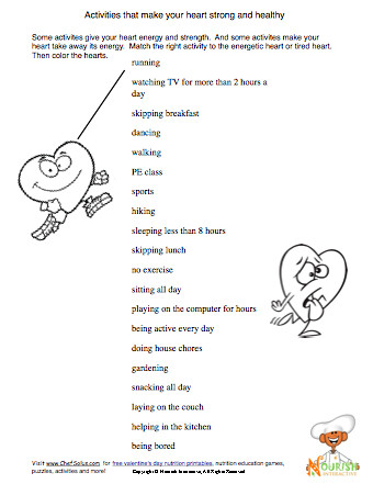 Printables Free Printable Nutrition Worksheets free printable health worksheets davezan davezan