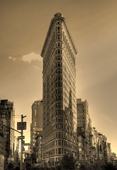 New York City USA -  Flatiron Building 05