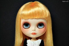 (------coconut) Tags: make up carved doll sad vampire teeth makeup carving blythe fangs custom vamp vampira rbl colmillos