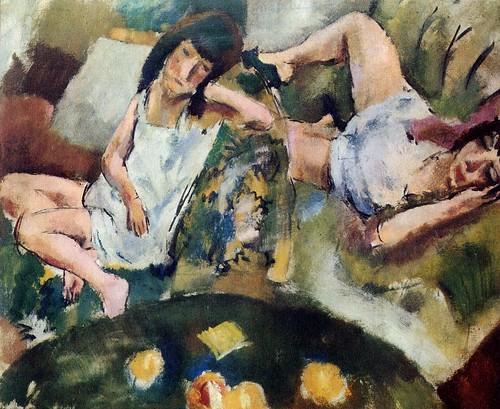 Pascin, Jules  - Siesta  - 1913