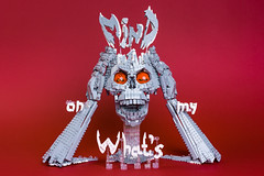What's on my mind (1) (timofey_tkachev) Tags: lego moc mind what afol skull hands eyes