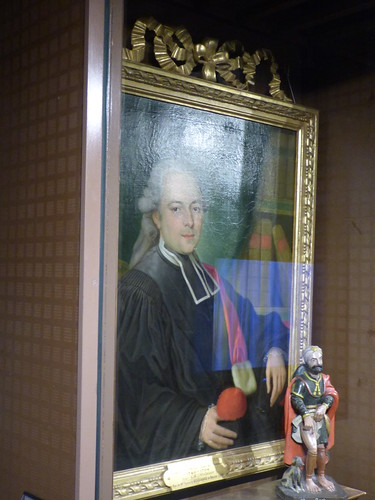 Hôtel-Dieu de Beaune - Salle Saint-Nicolas - portrait of Jean Baptiste Bourgeois