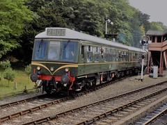 Departing for Highley (simonjohn4) Tags: railcar dmu severn valley railway bewdley highley