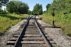 Clinton Wye (2) (Ace31_2010) Tags: railroad canadian national railway cnr grand trunk gtr tracks gexr clinton ontario