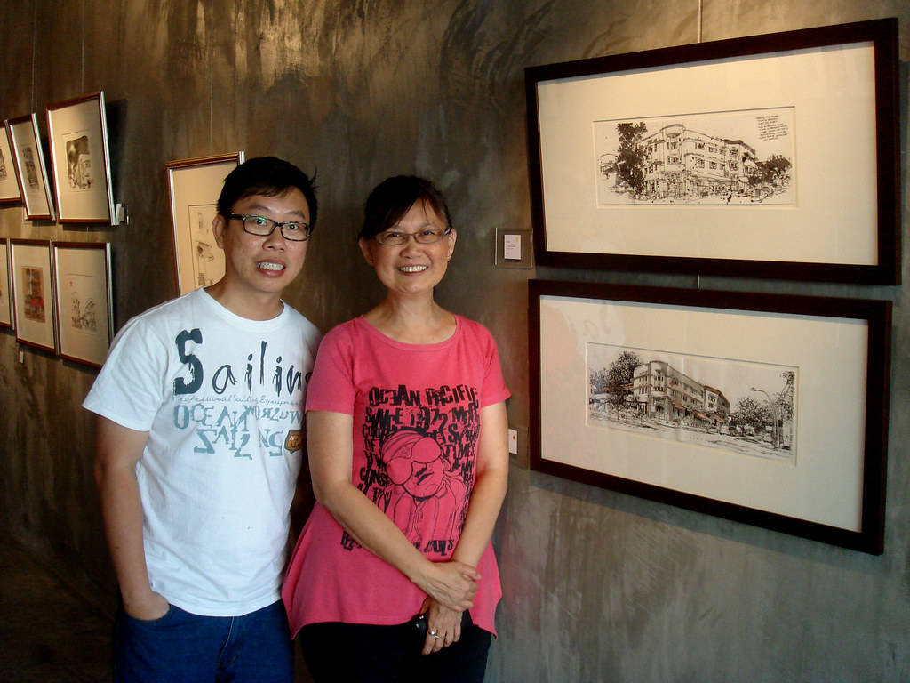 Tiong Bahru Sketches Exhibition, Singapore