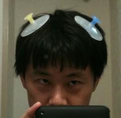 【100円グッズ】丸型シャンプーブラシ/二個セット
