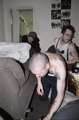the missing heroin (dickydawson) Tags: cold tattoo turkey reading living braces skin boots room diary den documentary tattoos drug heroin pills ketamine nan addict scars skinhead goldin diarist