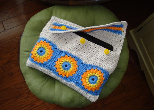 Crocheted Netbook Case 02