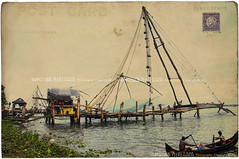 Chinese Fishing Nets, Fort Cochin, Kochi, Kerela - India
