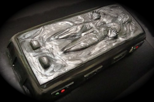 Han Solo in carbonite cake