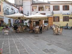 Maratea. La piazzetta. (sangiopanza2000) Tags: travel italy bar square italia basilicata piazza viaggio maratea sangiopanza tavoliniinpiazza