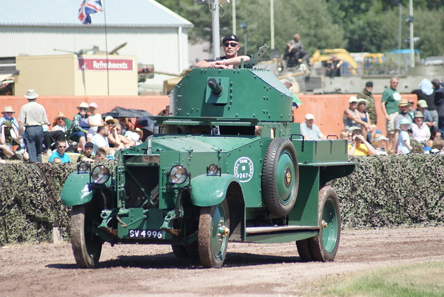 Rolls Royces Armoured Car