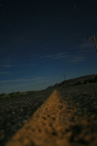Hwy 6 Under Moonlight