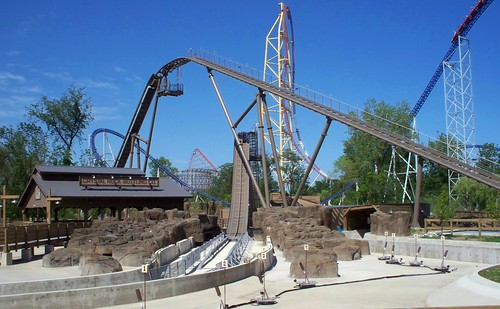 Cedar Point - Shoot the Rapids Without Water