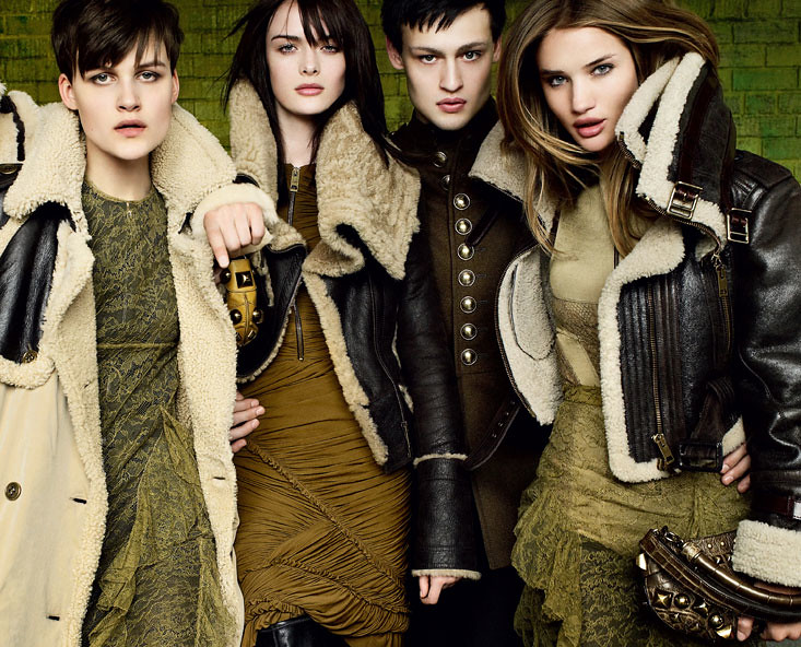 Burberry FW10 Ad Campaign0001(Official)