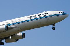 9K-ANB - 090 - Kuwait Airways - Airbus A340-313 - 100617 - Heathrow - Steven Gray - IMG_5464