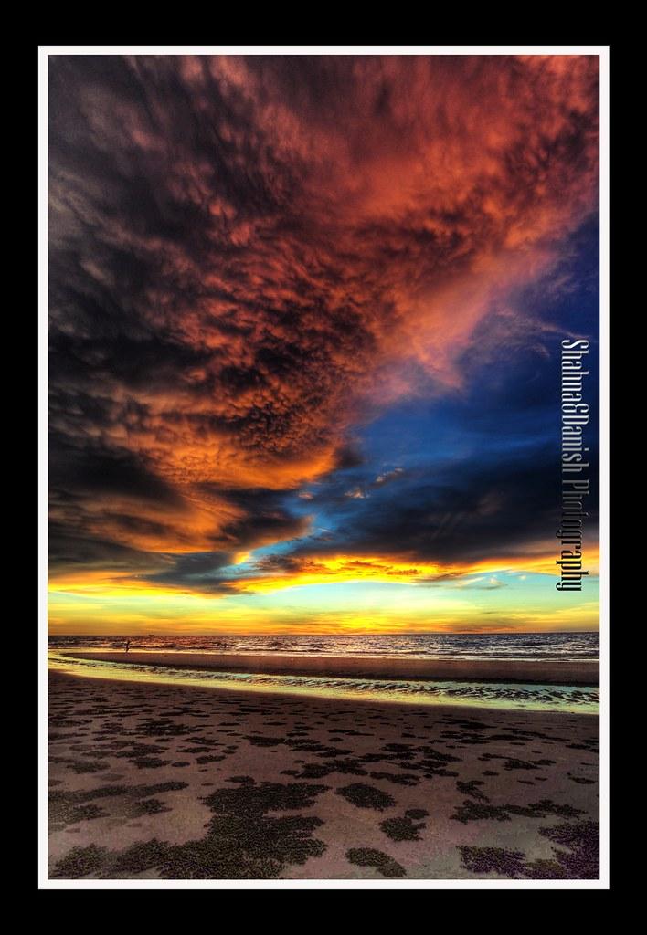 Sunset Di Kg Ku