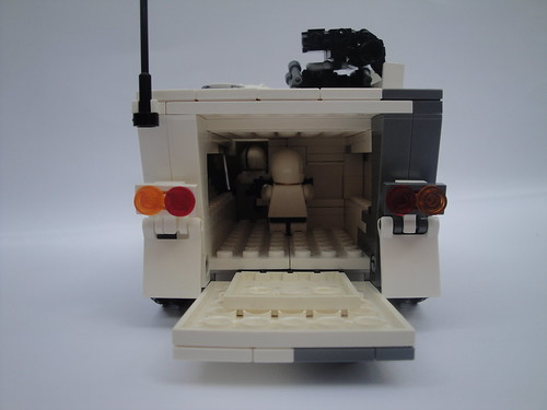 M113A5 Rear door/ Interior View