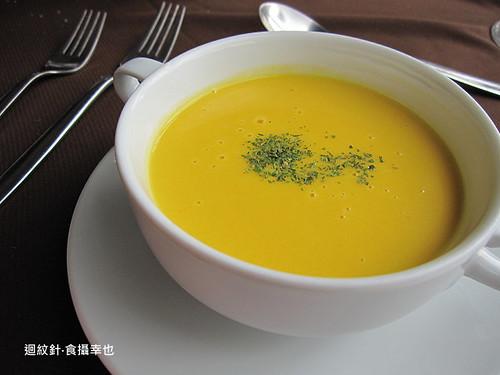 葡萄樹套餐之南瓜湯