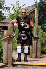 Celtic Stud (Shot In The City) Tags: leather tattoo daddy kilt boots masculine muscle celtic renaissancefaire stud highlandgames renaissancefair mthope pennsylvaniarenaissancefaire celticfling parenaissancefaire facialhairbeard