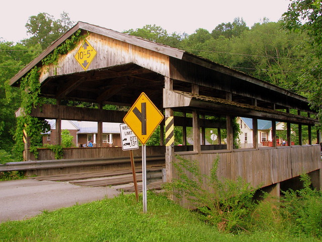 Church St. Covered Bridge - Red Boiling Springs