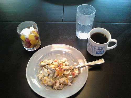 P90X Scrambled Egg Whites with