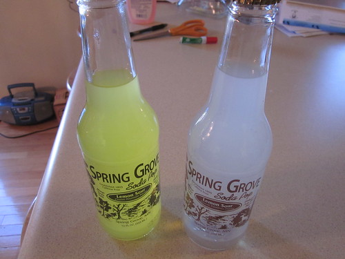 Spring Grove Lemon Sour old and new