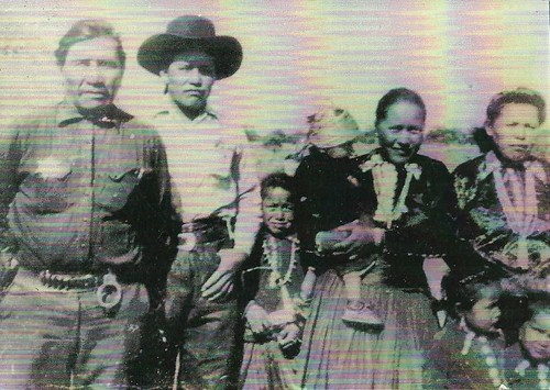 Julius Sombrero and family