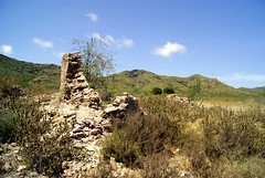 history (Luccca) Tags: park espaa house mountain spain europe mediterranean natural ruin scenic hills national cartagena calblanque reservo