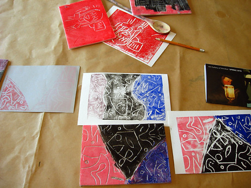 agw sundays in the studio: printmaking workshop